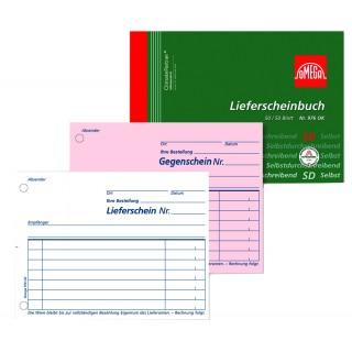 OMEGA Lieferscheinbuch 976 OK A6 quer 2 x 50 Blatt