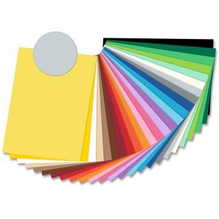 FOLIA Tonzeichenpapier 6780 50 x 70 cm 130 g/m² hellgrau