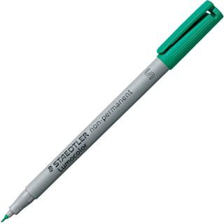 STAEDTLER LUMOCOLOR OHP-Stift 0,4 mm wasserlöslich grün