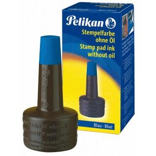 PELIKAN Stempelfarbe 4K ohne Öl 28 ml blau