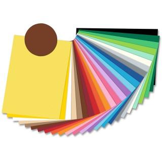 FOLIA Tonzeichenpapier 6785 50 x 70 cm 130 g/m² schokobraun