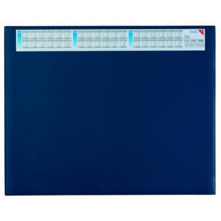 LÄUFER Schreibunterlage 44655 Durella 52 x 65 cm mit Kalender blau