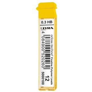 LYRA Bleimine HB 0,3 mm 12 Stück