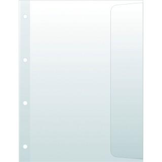 DONAU Dokumentenhüllen A4 5 Stück transparent