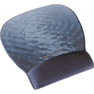 3M Mousepad mit Handgelenkauflage blau