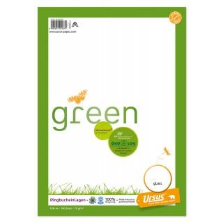 URSUS GREEN Ringbucheinlagen A4 100 Blatt glatt