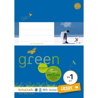URSUS GREEN Heft FX 1 A5 20 Blatt glatt