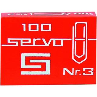 SAX Servo Büroklammern 243 100 Stück 30 mm