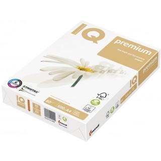 IQ Premium Kopierpapier A5 80 g/m² 500 Blatt weiß