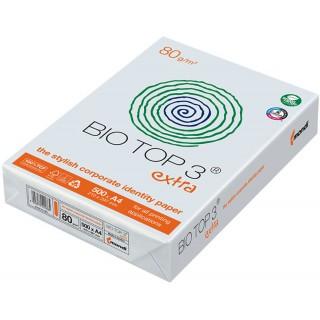 BIOTOP3 Kopierpapier A4 2 x gelocht 500 Blatt naturweiß