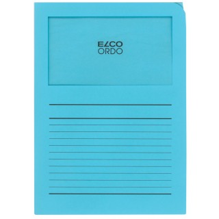ELCO Ordo-Mappe A4 100 Stück pastellblau
