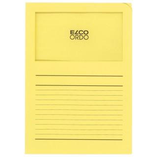 ELCO Ordo-Mappe A4 100 Stück pastellgelb
