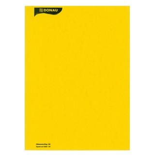DONAU Aktenumschlag A4 Pressspann gelb