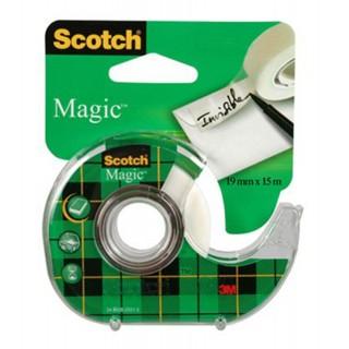 SCOTCH Klebeband Magic Tape 19 mm x 15 m