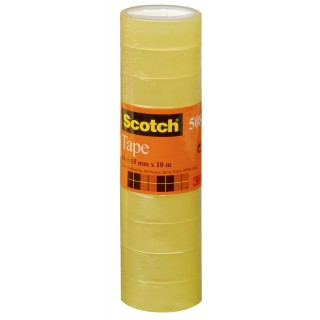 SCOTCH Klebeband 10 Rollen 15 mm x 10 m