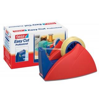 TESA Tischabroller 57422 für Klebefilm tesa Easy Cut® 25 mm x 66 m rot/blau