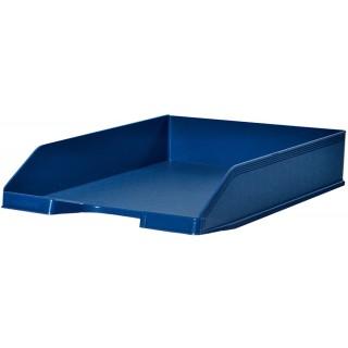 Briefkorb mit Etikettenhalter A4 blau