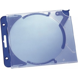 DURABLE CD/DVD-Hardbox 5269 Quickflip 5 Stück transparent