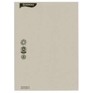 DONAU Aktenumschlag aus Recyclingkarton A4 grau
