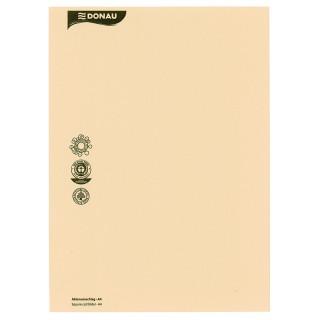 DONAU Aktenumschlag aus Recyclingkarton A4 chamois