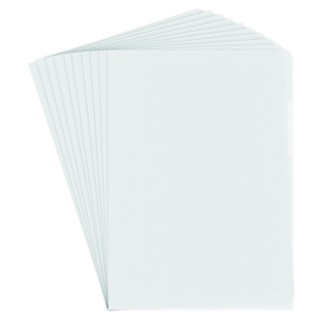 DONAU Aktenhülle A4 160 µm 100 Stück transparent