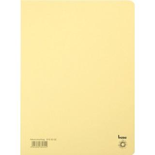 BENE Aktenumschlag 81900 A4 aus Recyclingkarton gelb