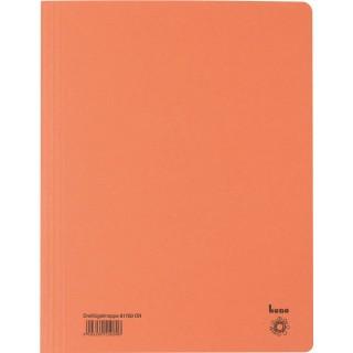 BENE Dreiflügelmappe aus Recyclingkarton A4 orange