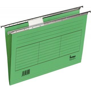BENE Hängemappe aus Karton A4 5 Stück grün