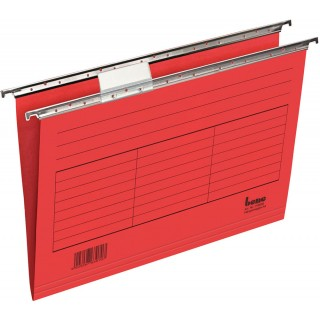 BENE Hängemappe aus Karton A4 5 Stück rot
