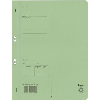 BENE Ösenhefter 81322 A4 aus Recyclingkarton grün