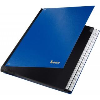 BENE Pultordner 75416 A4 31 Fächer 1-31 blau