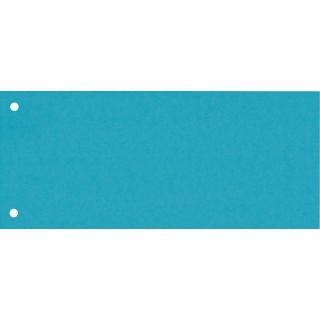 BENE Trennstreifen 201950 100 Stück aus Karton blau