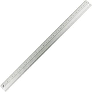 ALCO Lineal aus Aluminium 50 cm silber