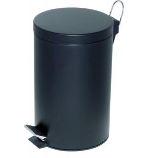 ALCO Tretabfalleimer 12 Liter schwarz