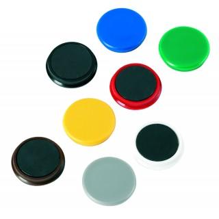 ALCO Magnete Ø 3,2 cm 10 Stück dunkelgrün