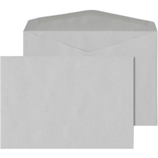 ÖKI Kuvert Natur C6/U80 25 Stück DIN C6 gummiert 80g/m² grau