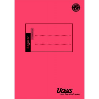 URSUS Registerhefte T640R A6 8 mm liniert