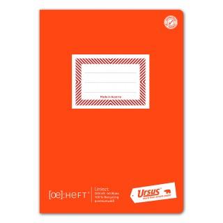 URSUS Schulheft A5 60 Blatt 80 g/m² liniert
