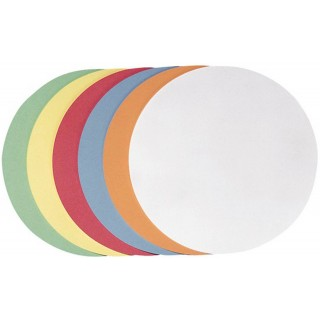 FRANKEN Moderationskarten Kreis Ø 9,5 cm 250 Stück mehrere Farben