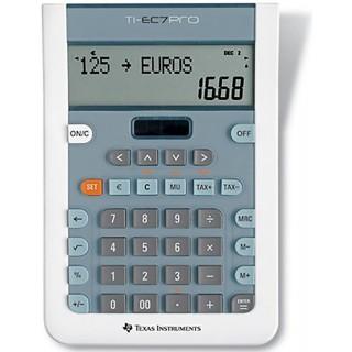 TEXAS Taschenrechner TI-EC7 Pro grau