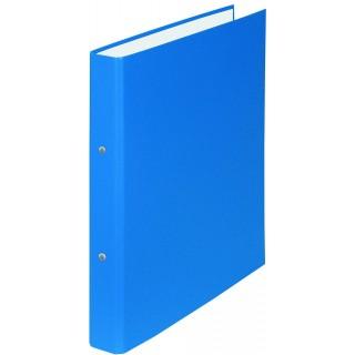 DONAU Ringmappe 3719001 A5 2 Ringe ø 3 cm blau