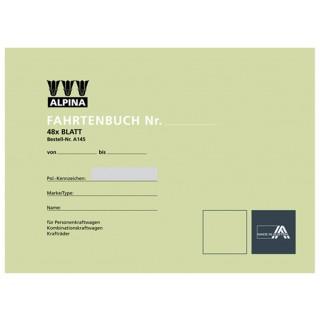 LEYKAM Fahrtenbuch A145 A5 quer für PKW