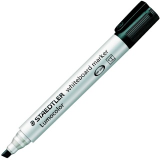 STAEDTLER Lumocolor Whiteboardmarker 351 mit Keilspitze 2-5 mm schwarz