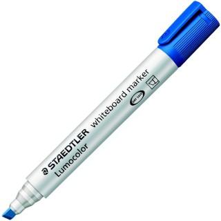 STAEDTLER Lumocolor Whiteboardmarker 351B mit Keilspitze 2-5 mm blau