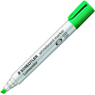 STAEDTLER Lumocolor Whiteboardmarker 351B mit Keilspitze 2-5 mm grün