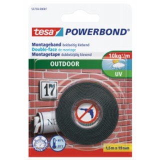 TESA Montageband Outdoor 19 mm x 1,5 m