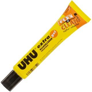UHU Flex&Clean Alleskleber 18 g transparent