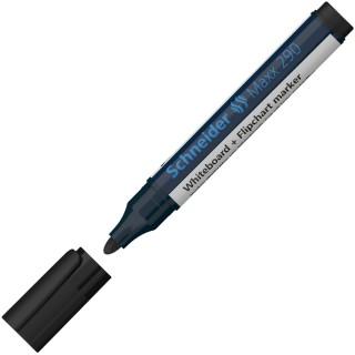 SCHNEIDER Boardmarker Maxx 290 Rundspitze 2-3 mm schwarz