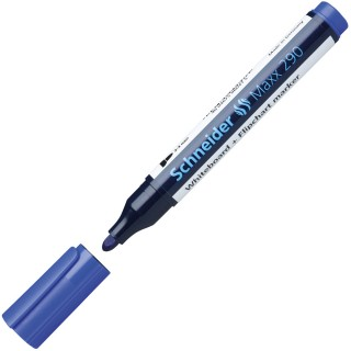 SCHNEIDER Boardmarker Maxx 290 Rundspitze 2-3 mm blau