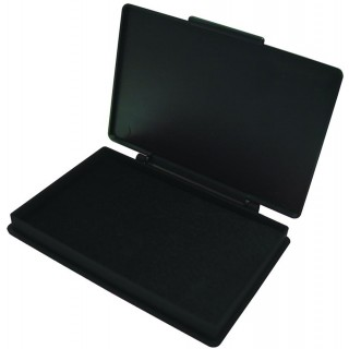 KORES Stempelkissen 11 x 7 cm schwarz